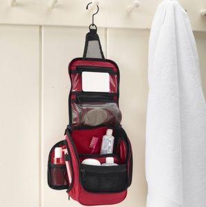 🧳✈️🌏 LL Bean Large Hanging Travel Toiletry Bag